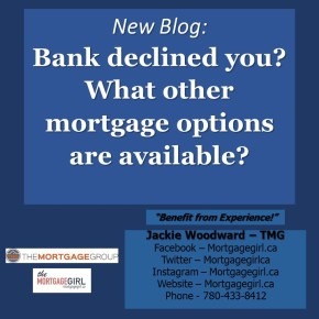 Bank declined you? What other mortgage options are available?